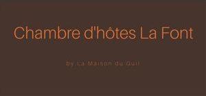 Chambre dhotes La Font